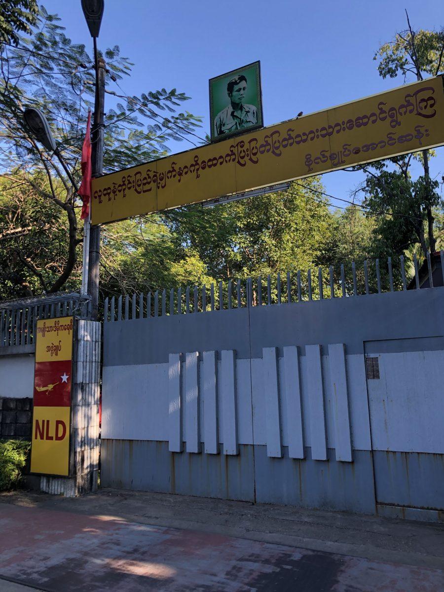 La casa di Aung San Suu Kyi