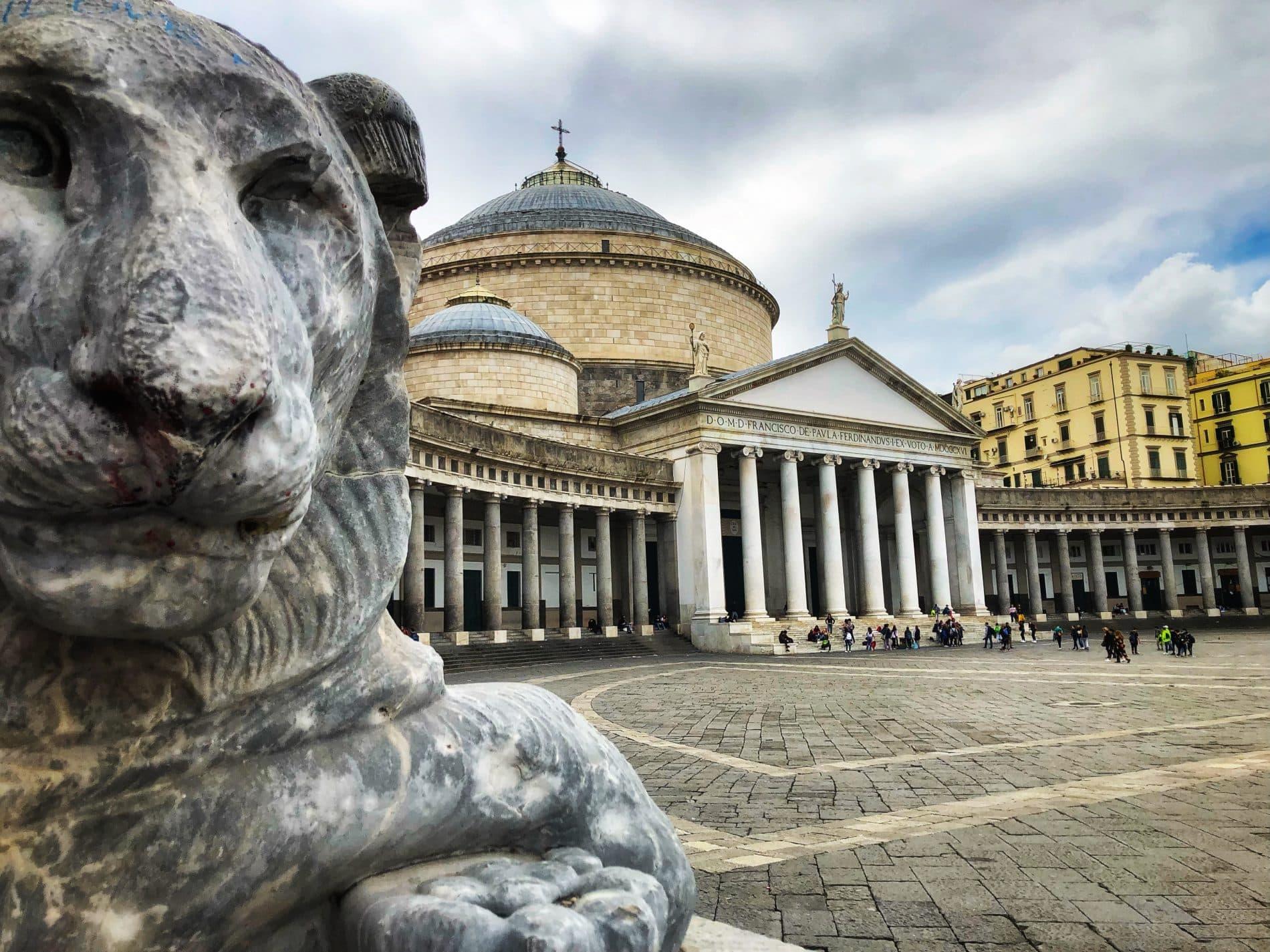 Piazza del Plebiscito Napoli