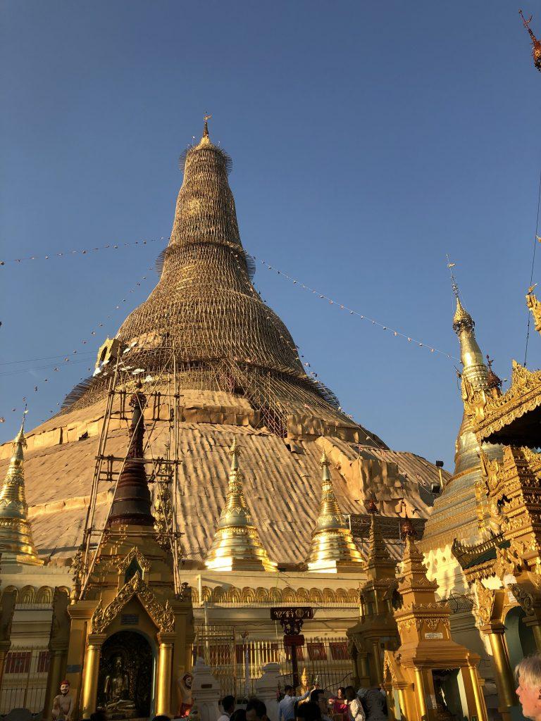 Shwedagon Pagoda pagode di Yangon