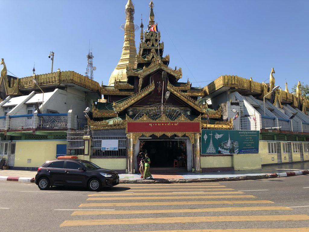 Sule Pagoda Rangoon