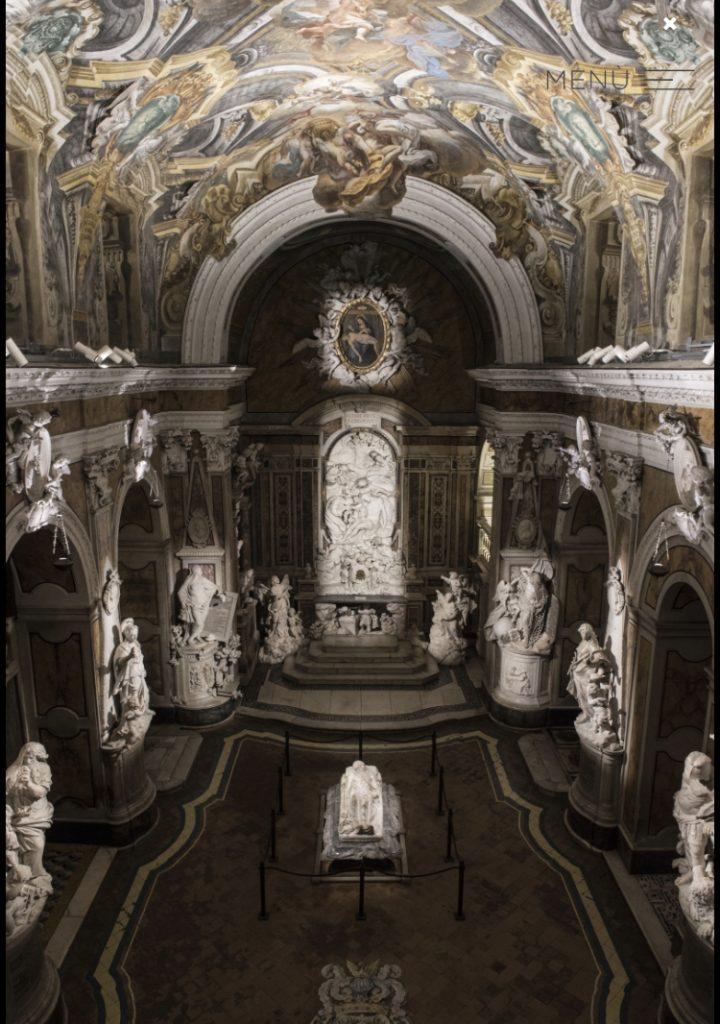 cappella Sansevero Napoli immagine tratta dal sito museosansevero.it