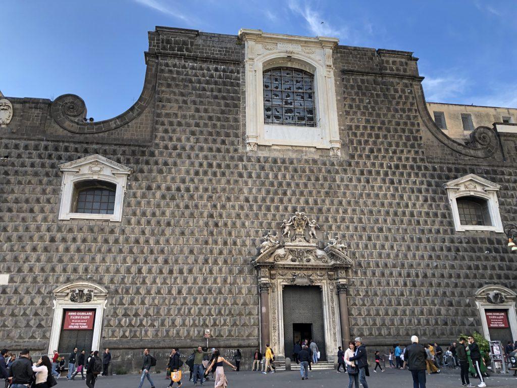 Piazza del Gesu' Nuovo Napoli