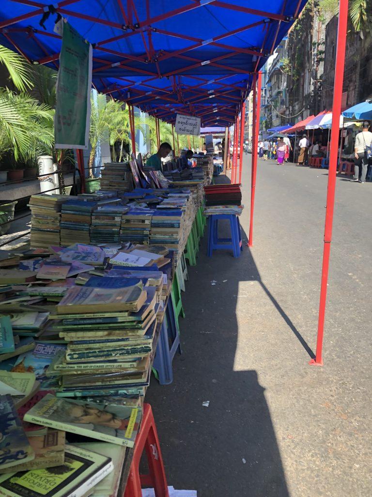 Pansodan Street Yangon