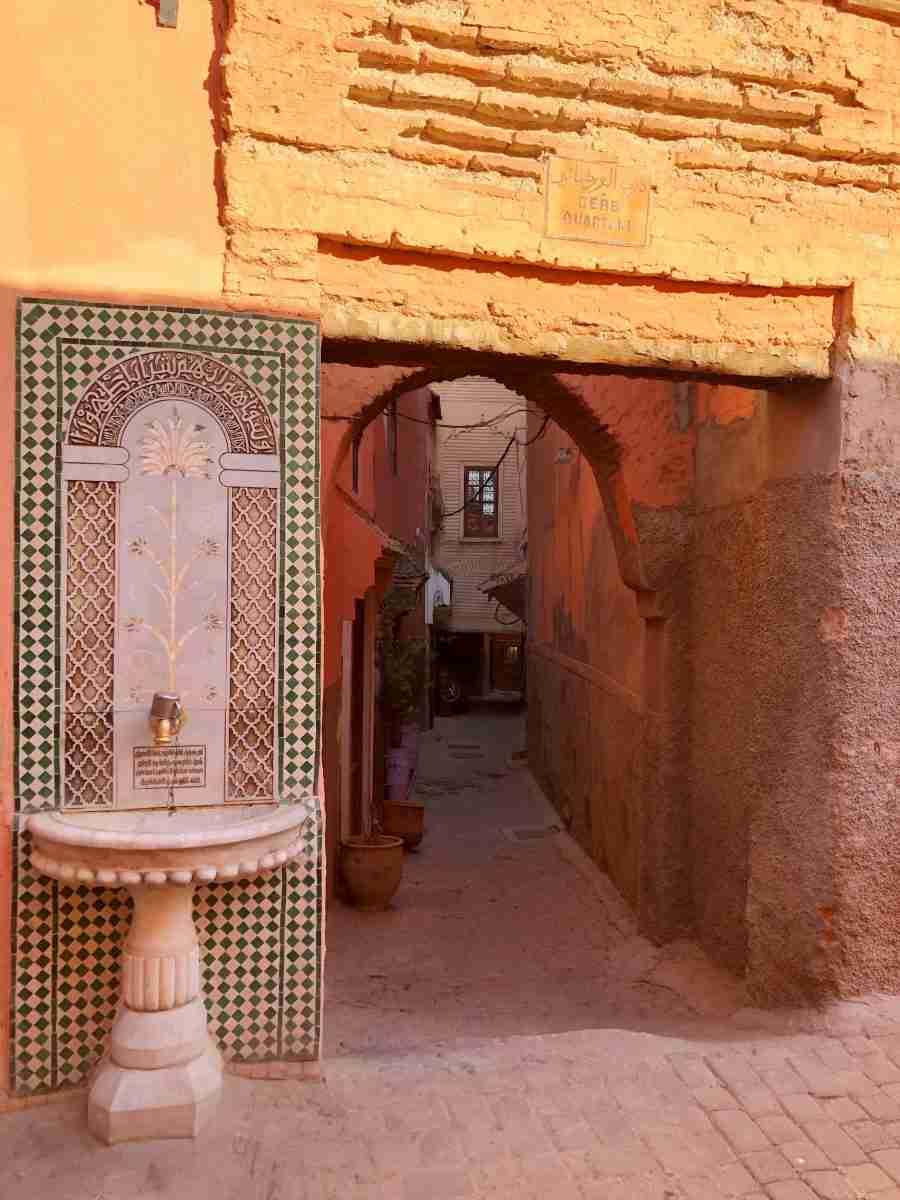 i vicoli di Marrakech