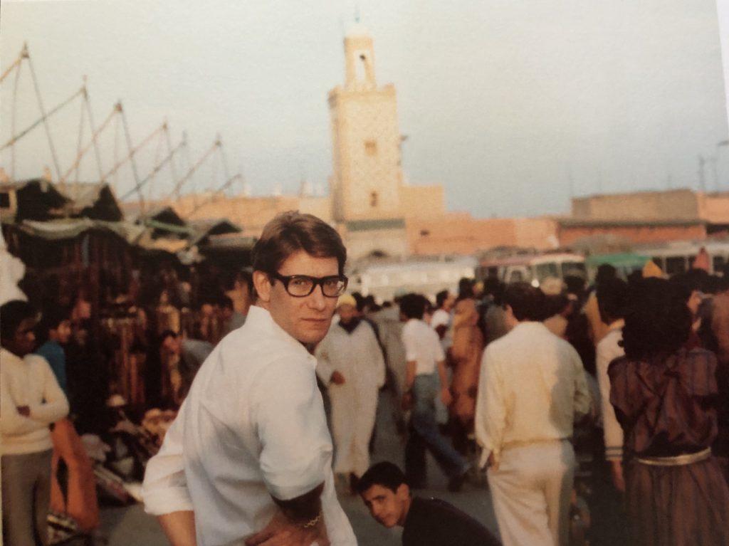Yves Saint Laurent a Marrakech