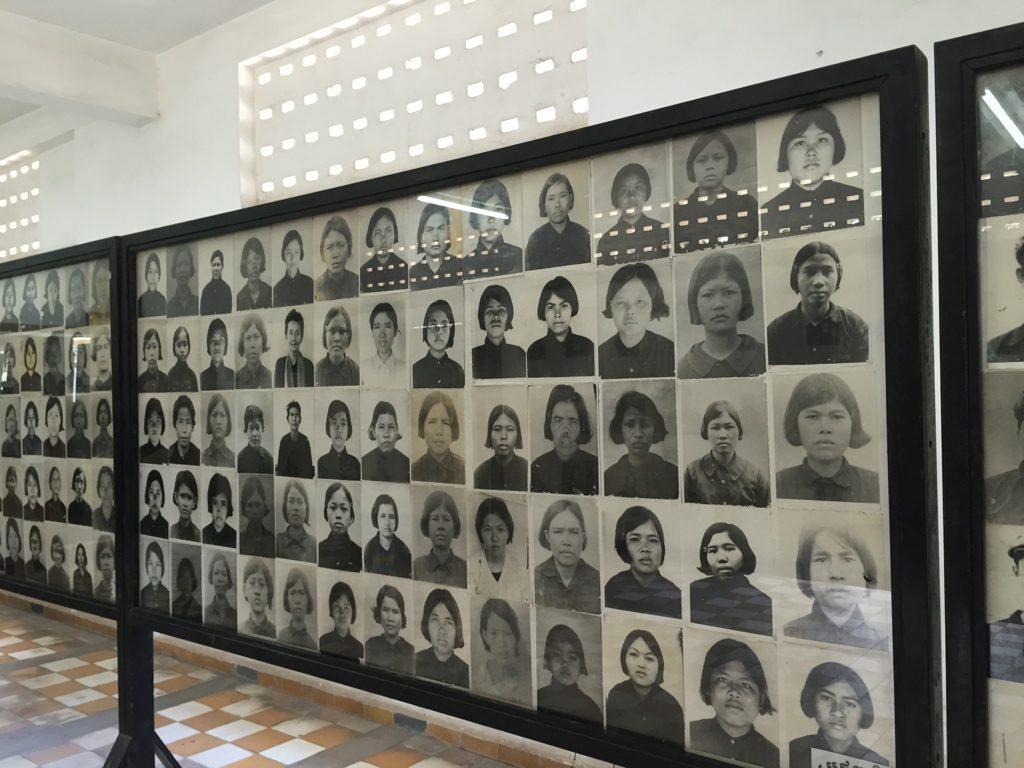 S-21 museo del genocidio I Khmer rossi di Pol Pot