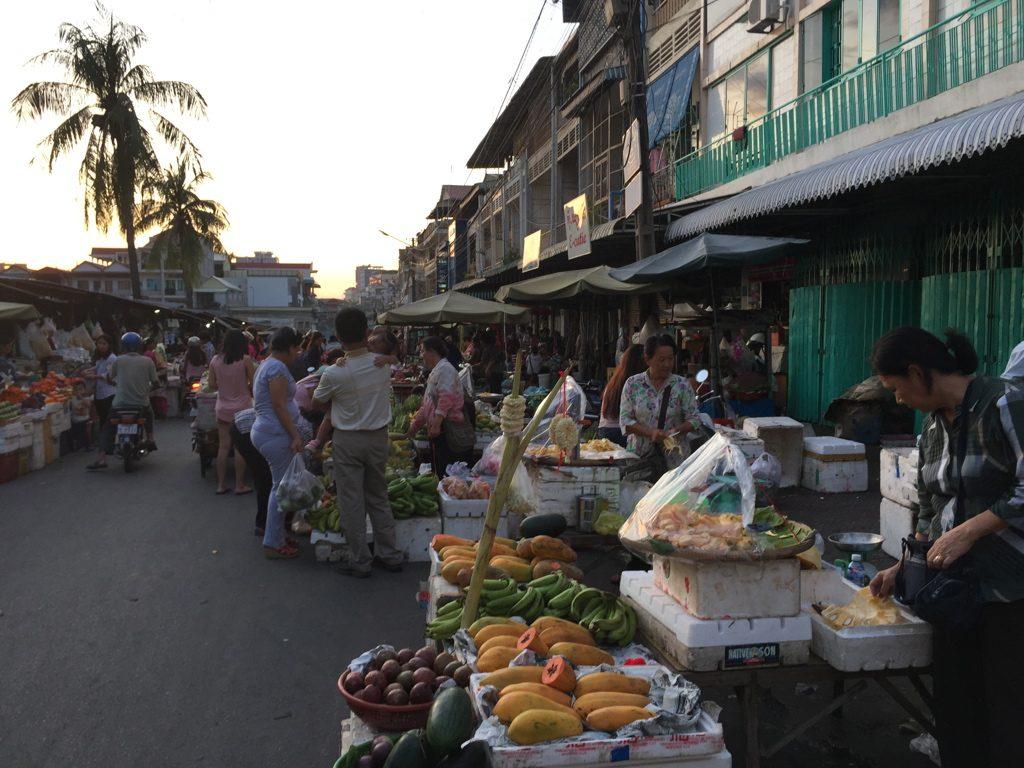 Mercati di strada Phnom Penh