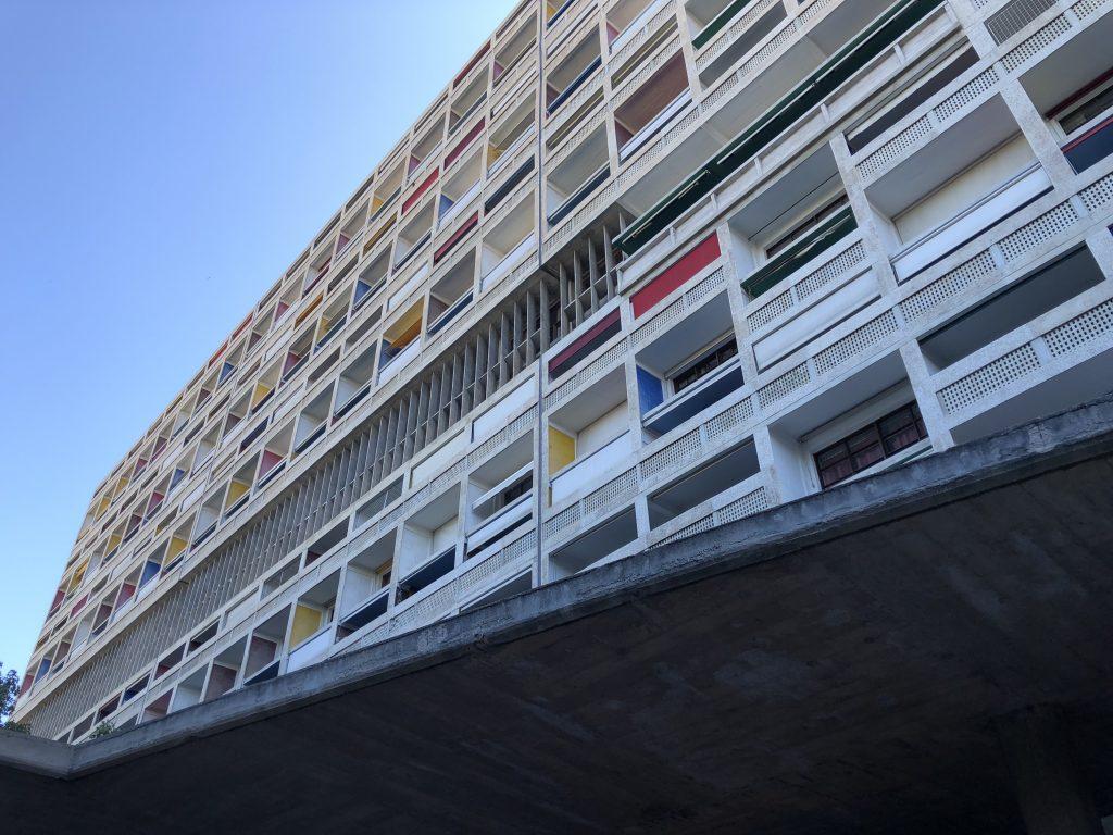 La cité Radieuse di Le Corbusier