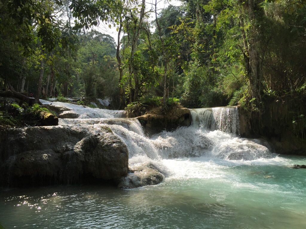 Le cascate di Tat Kuang Si