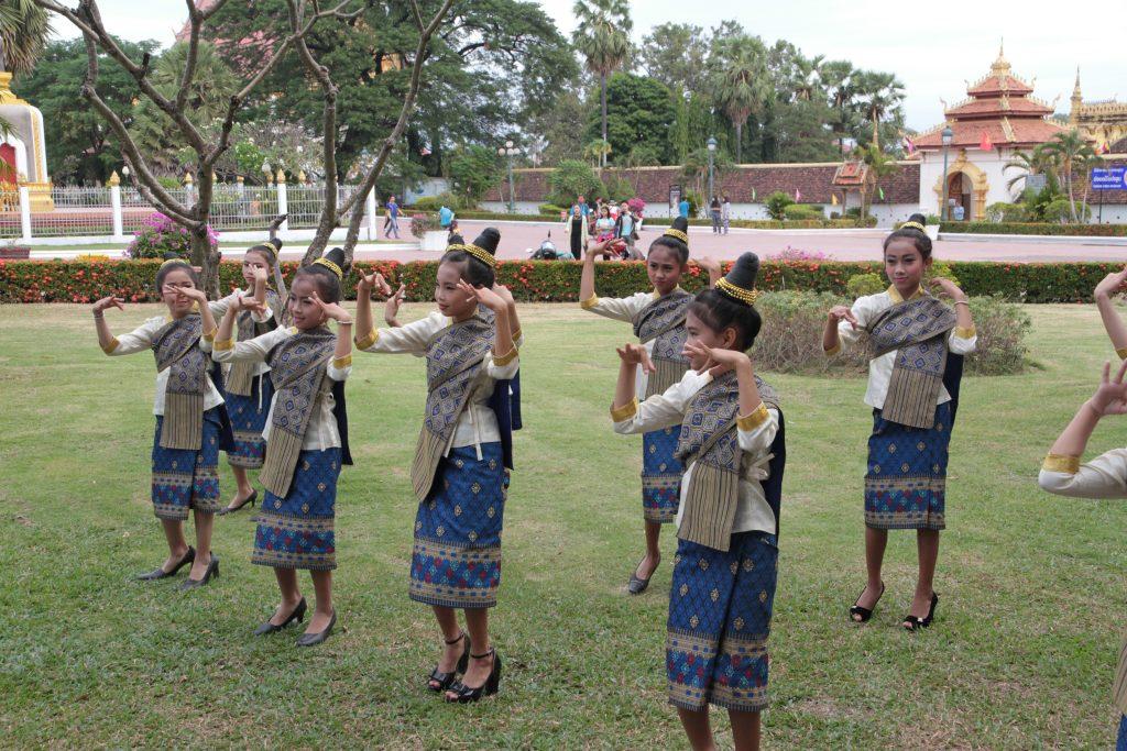 danza laotiana Vientiane