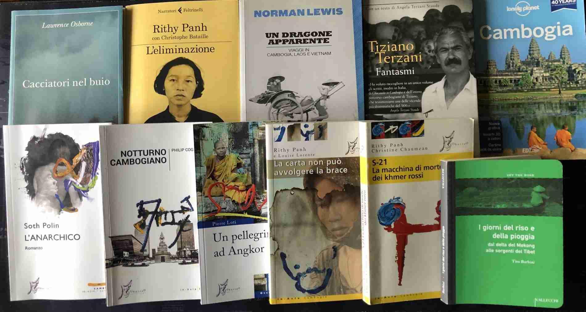 Libri sulla Cambogia