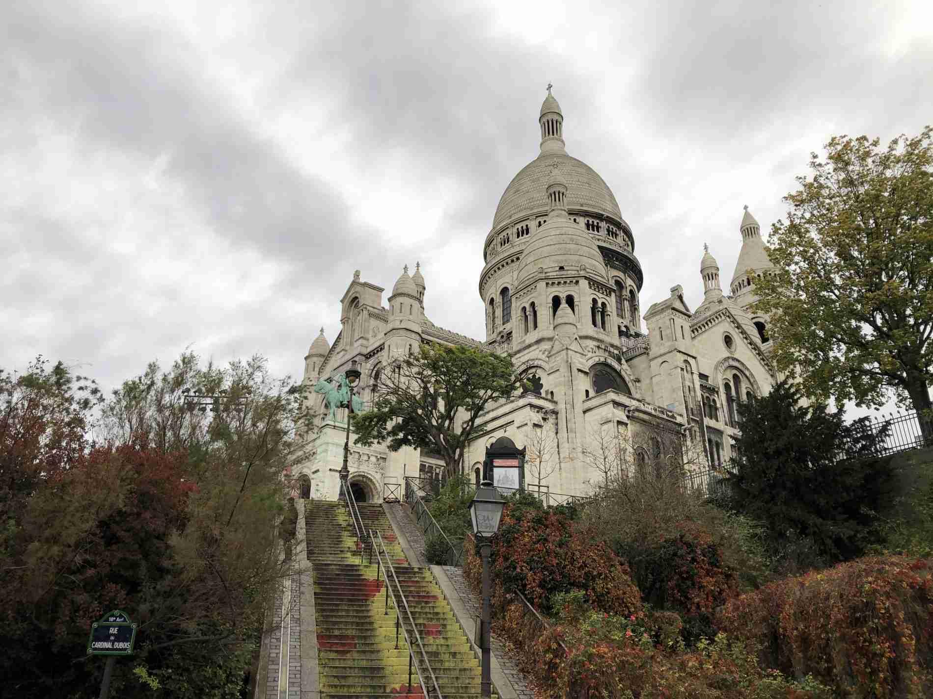 Quartiere Montmartre Parigi