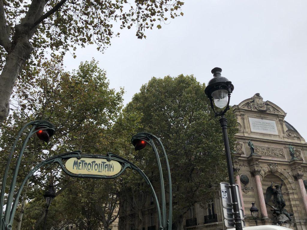 la metro di Parigi
