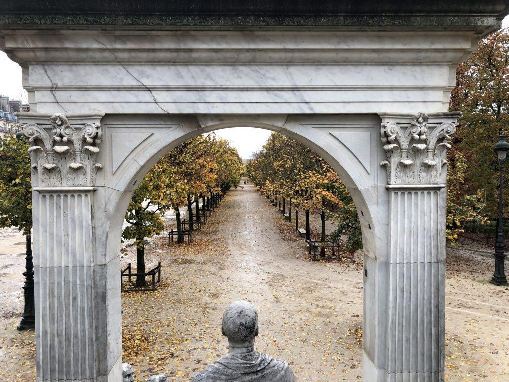 Jardin des Tuileries quartieri di Parigi