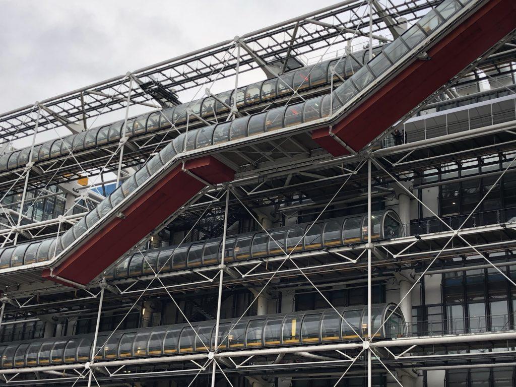 Centro Pompidou quartieri di Parigi