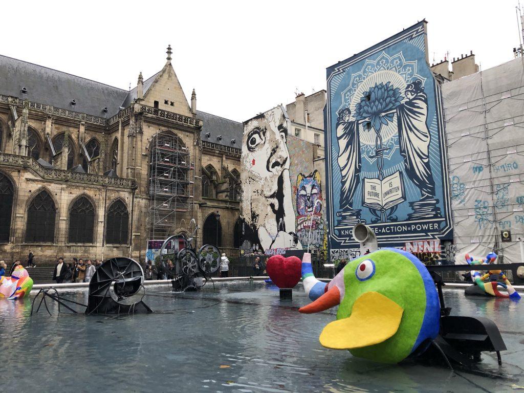 Place Igor Stravinsky quartieri di Parigi