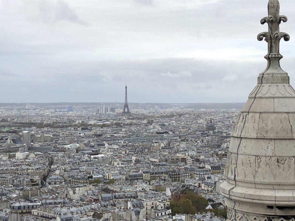 Il panorama dal Sacré Coeur Quartiere Parigi