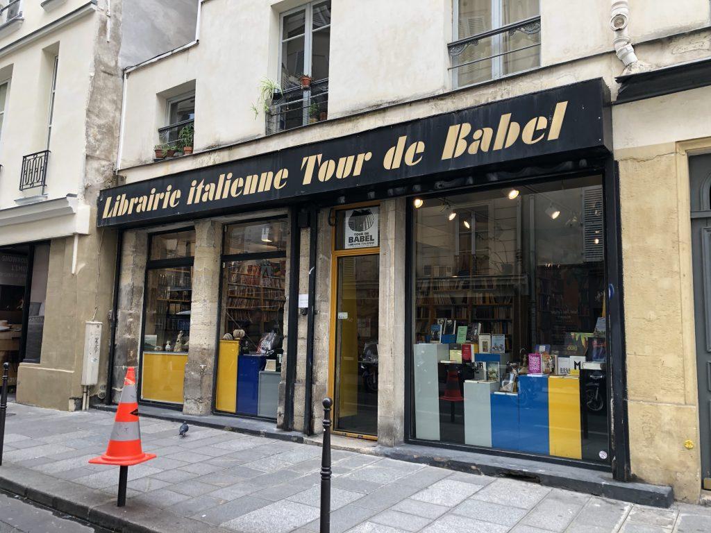 La libreria Tour de Babel