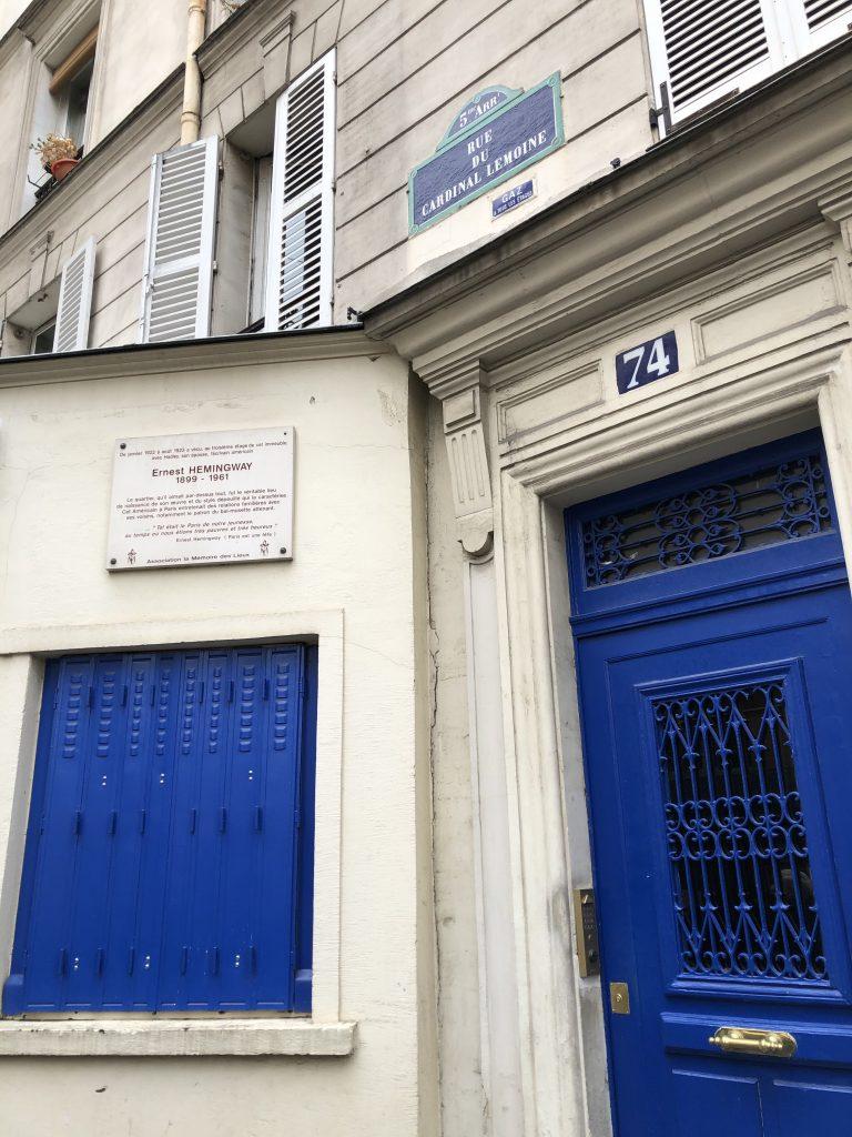 Casa di Hemingway Parigi