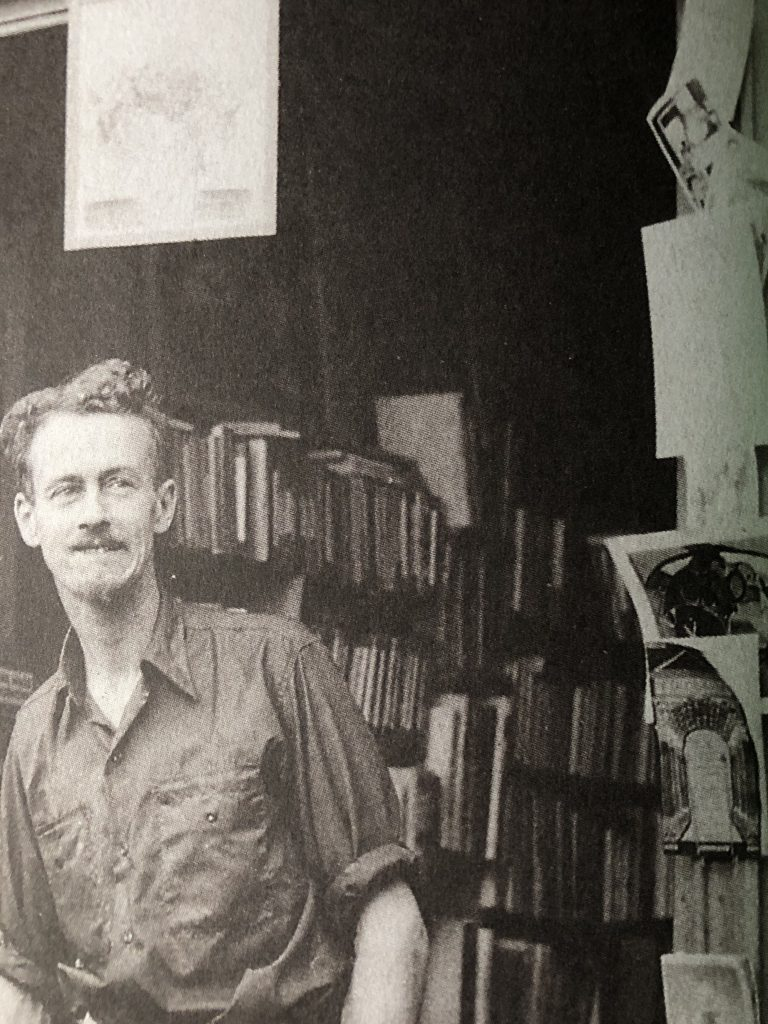 George Whitman Immagine tratta dal testo Shakespeare and Company, Paris: A History of the Rag & Bone Shop of the Heart