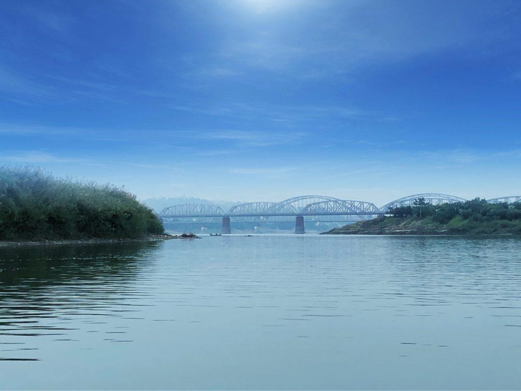 Inwa (Ava) Bridge e il Sagaing Bridge Mingun Sagaing Inwa