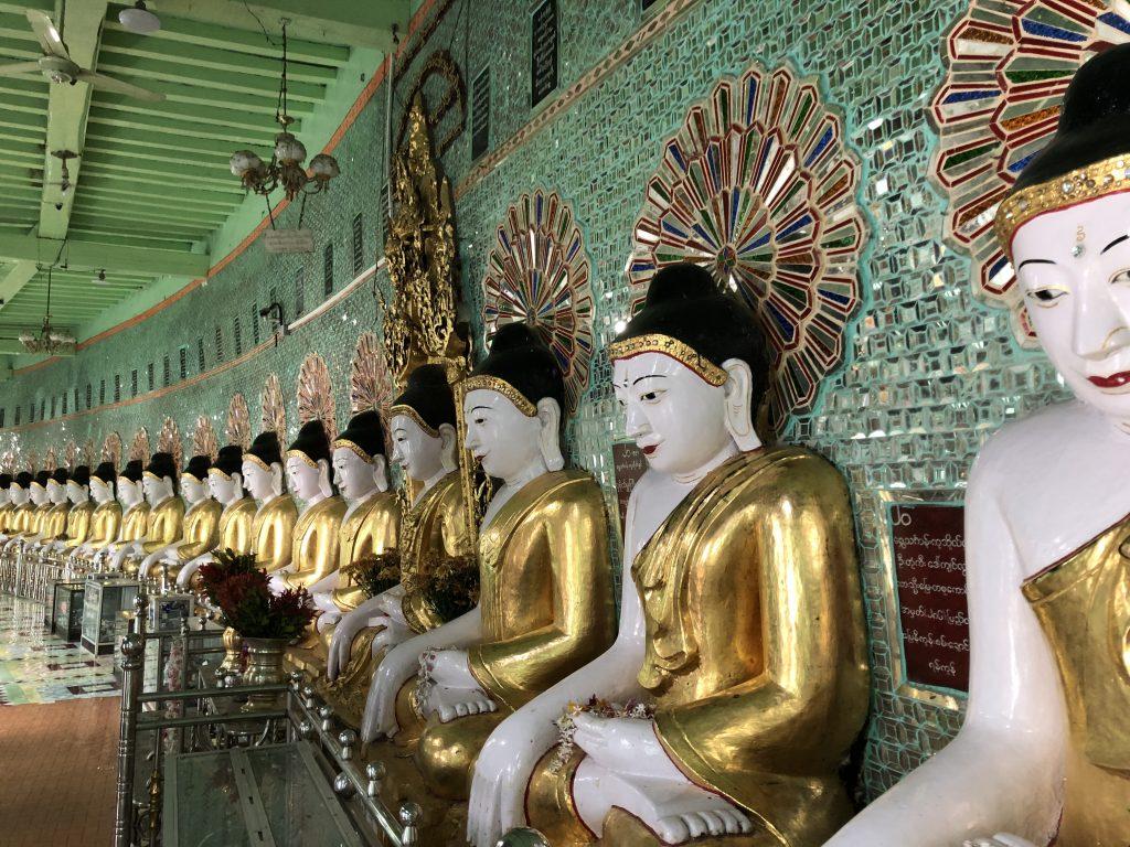 Grotte di U Min Thoze Sagaing