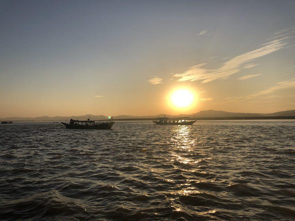 Il fiume Ayeyarwady o Irrawaddy