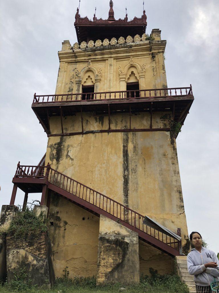 Nanmyin Wacht Tower Mingun Sagaing Inwa