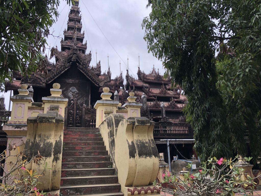 Monastero di Shwe In Bin Kyaung Mandalay
