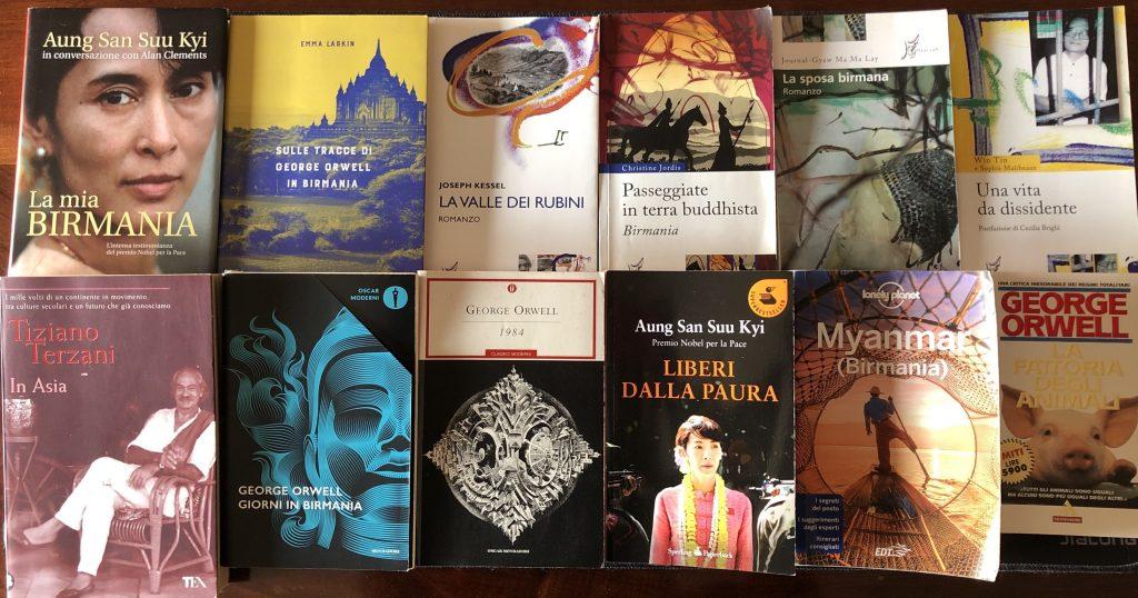 Libri sulla Birmania Myanmar