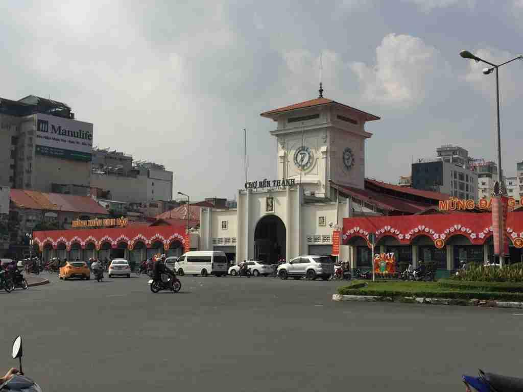 Mercato di Ben Thanh Ho Chi Minh