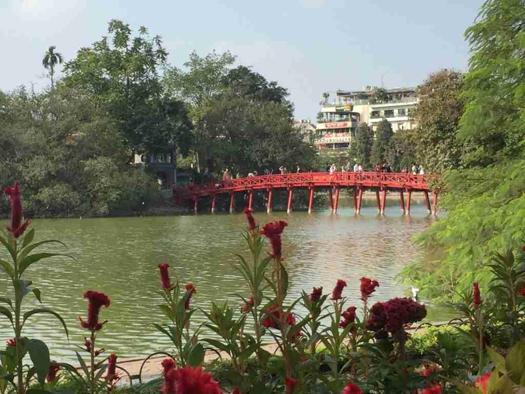Ponte del Sole Nascente Hanoi