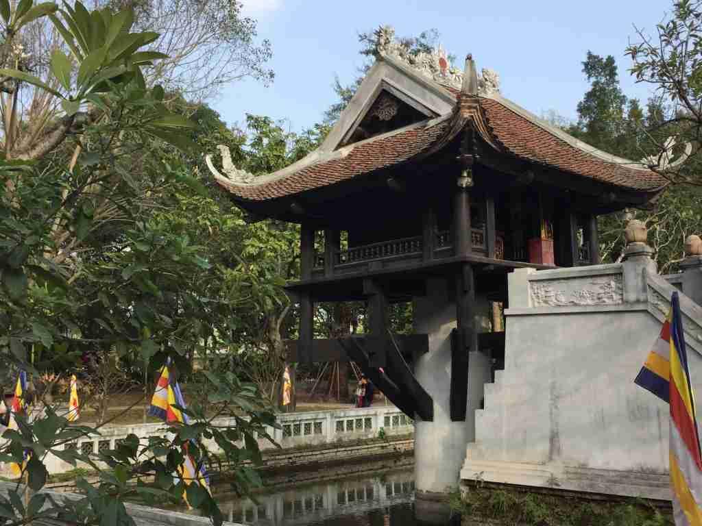 La Pagoda su una sola colonna