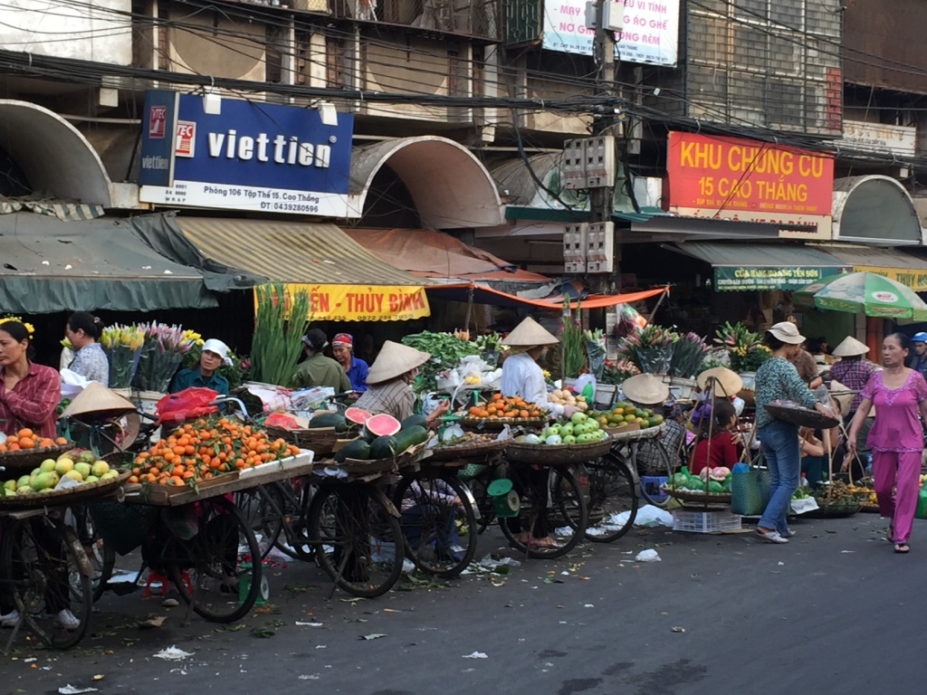 I mercati di Hanoi