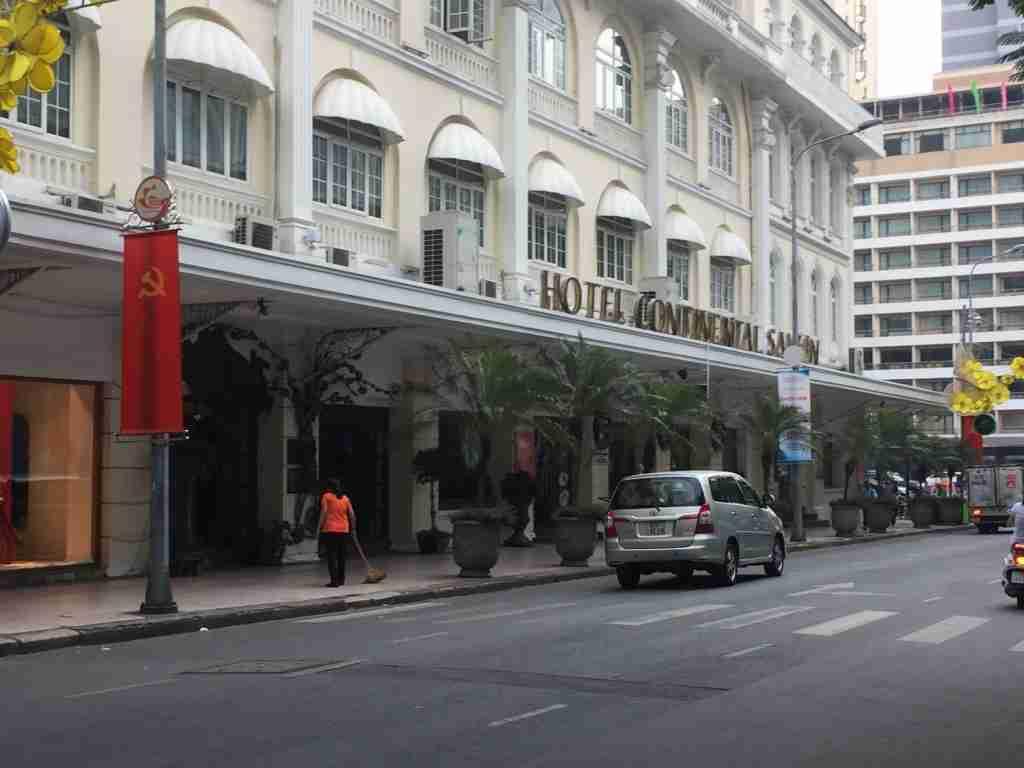 Hotel Continental Saigon nei luoghi della guerra del Vietnam