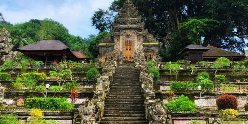 i templi di Bali