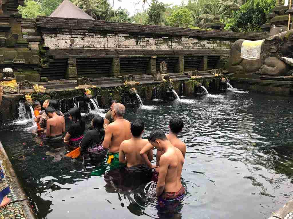 Tirta Empul i templi di Bali