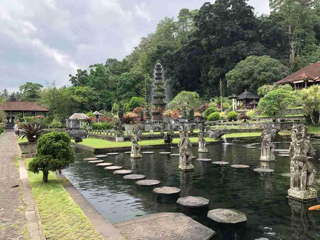 Tirta Gangga i templi di Bali
