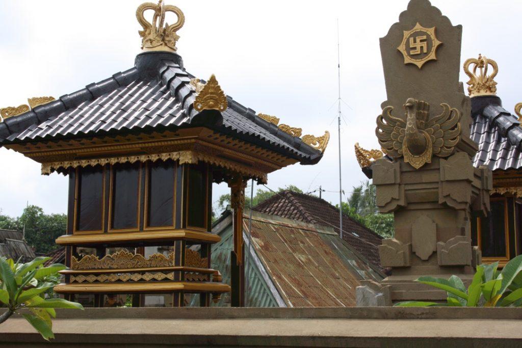 La svastica a Bali