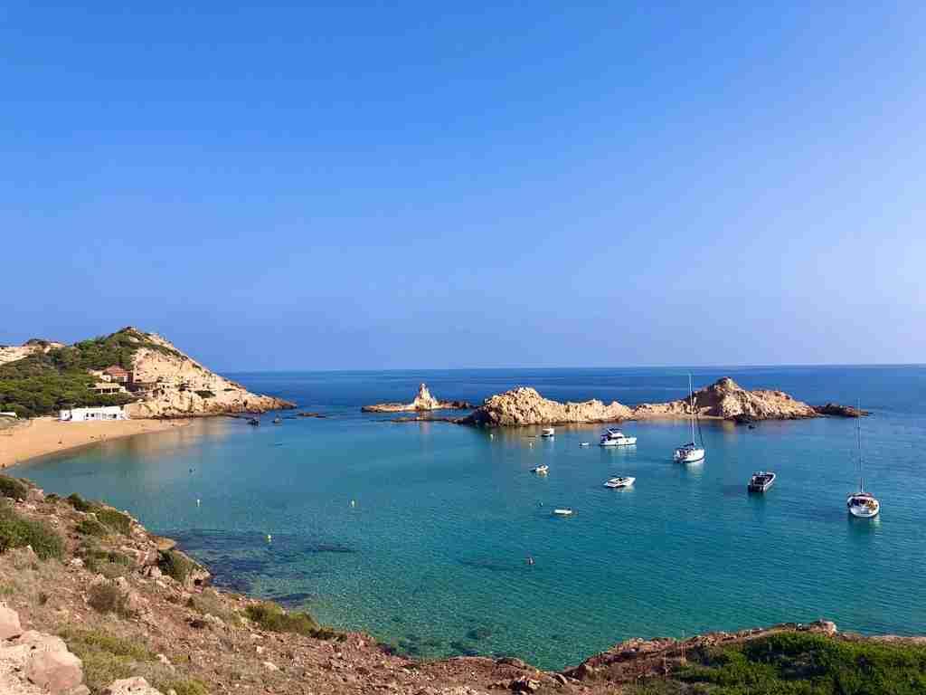 Cala Pregonda Le spiagge di Minorca