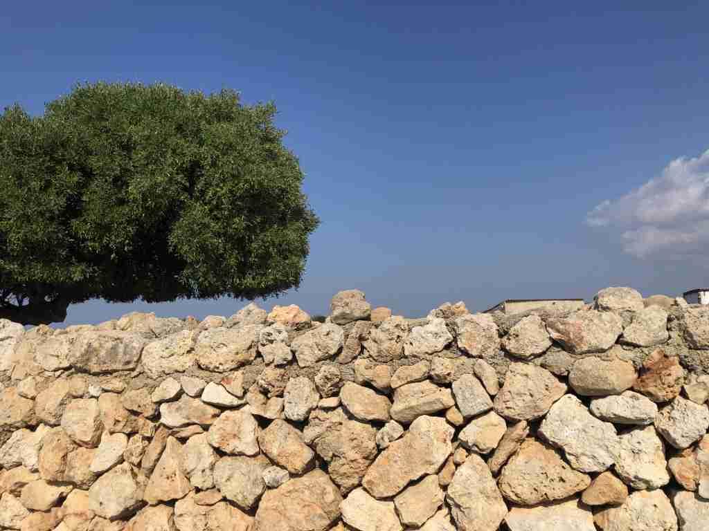 muretti di pietra a secco