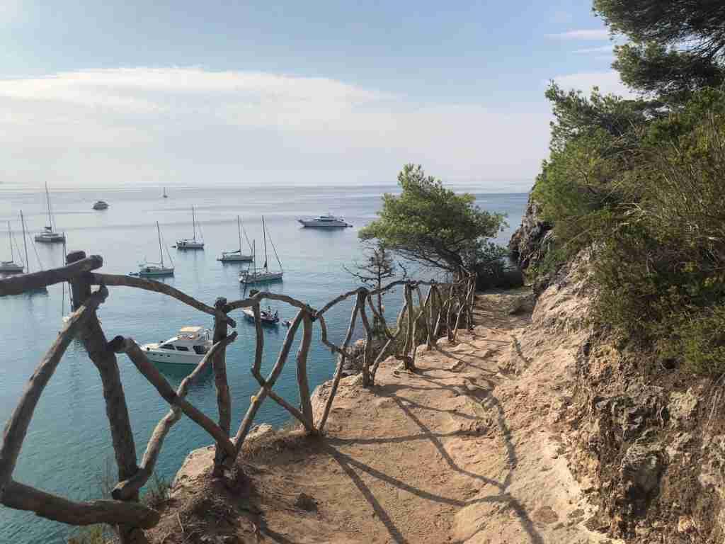 Cala Macareleta Le spiagge di Minorca