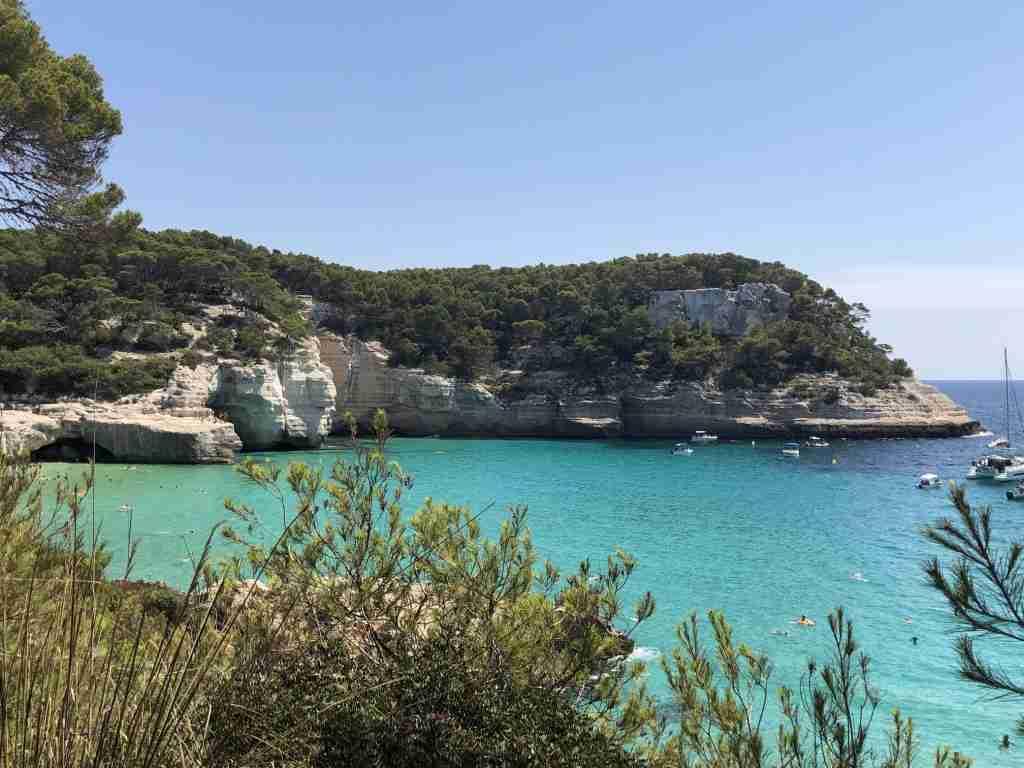 Cala Mitjana Le spiagge di Minorca