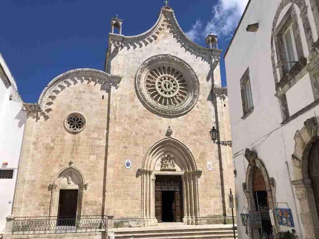 Ostuni La basilica di Santa Maria Assunta