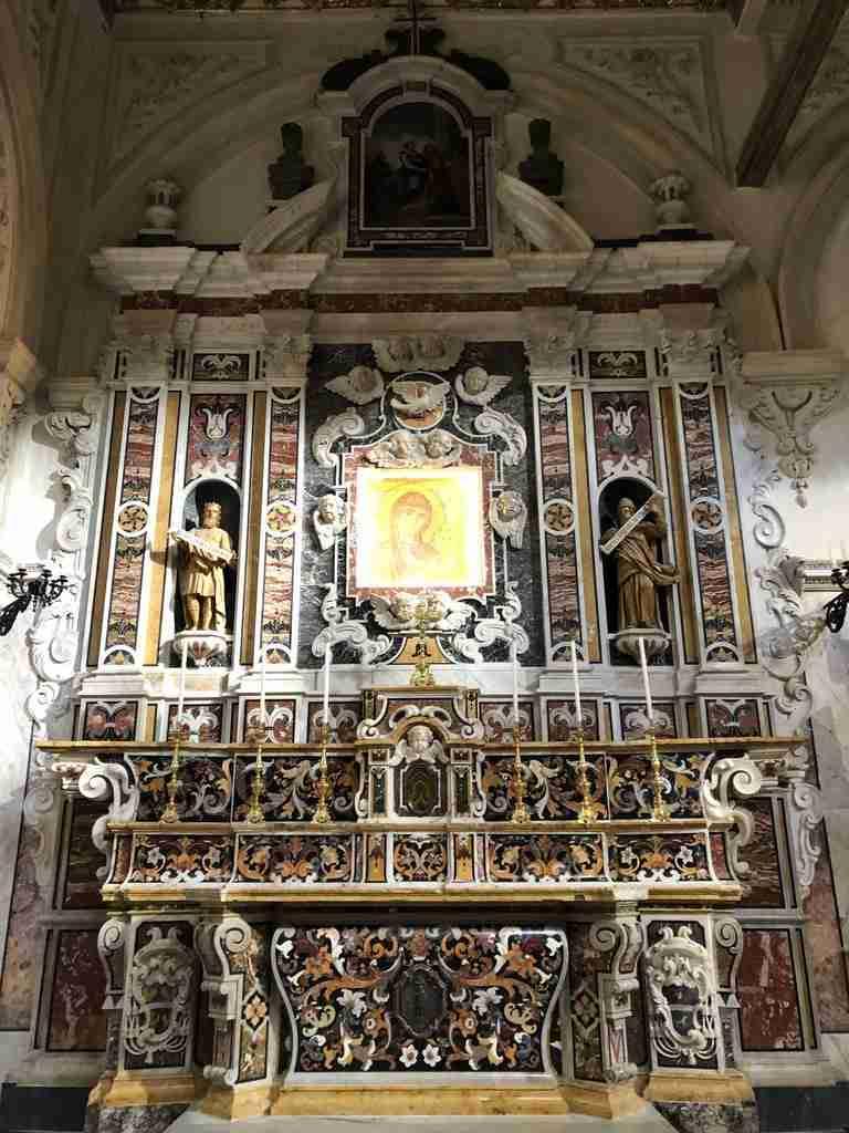 Madonna della Bruna Il Piano e la Civita di Matera