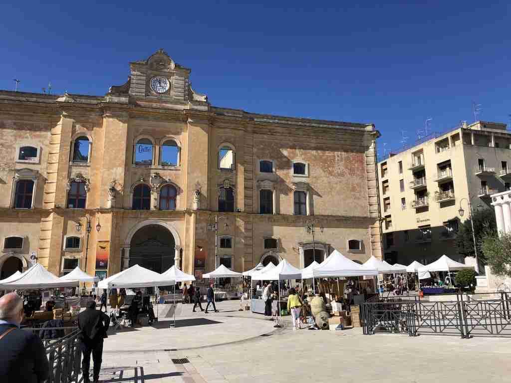 Piazza Vittorio Veneto Il Piano e la Civita di Matera