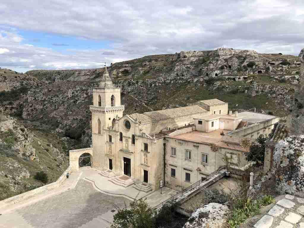 San Pietro Caveoso Le chiese rupestri di Matera