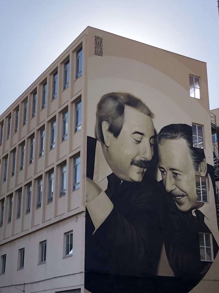 murales di Falcone e Borsellino Palermo