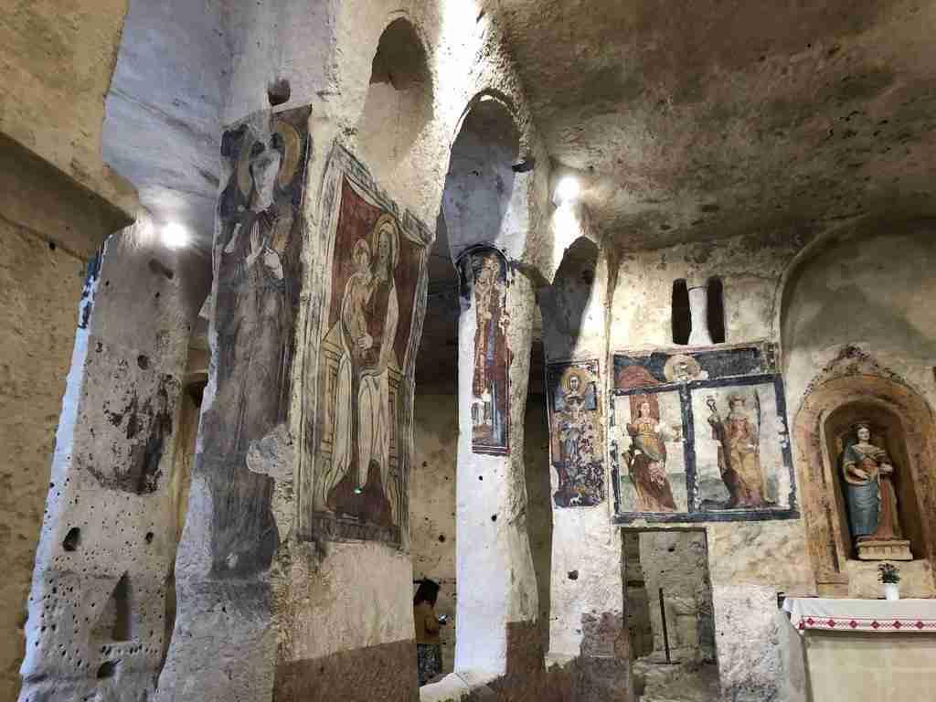 Santa Lucia alle Malve Le chiese rupestri di Matera