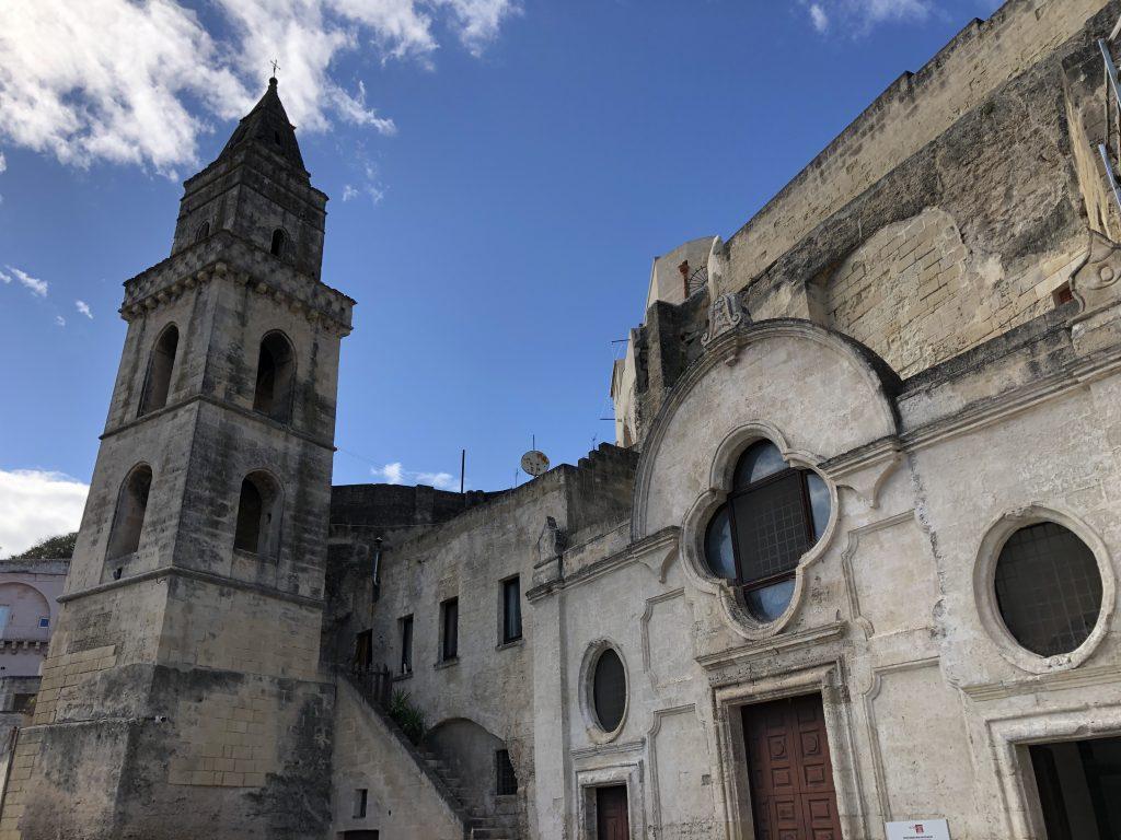 San Pietro Barisano Le chiese rupestri di Matera